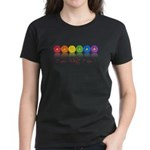 gay pride barcode Women's Dark T-Shirt