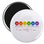 gay pride barcode Magnet
