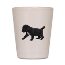 Labrador Retriever Puppy Shot Glass