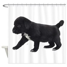 Labrador Retriever Puppy Shower Curtain