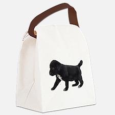Labrador Retriever Puppy Canvas Lunch Bag