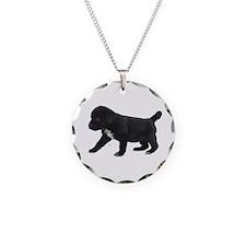 Labrador Retriever Puppy Necklace