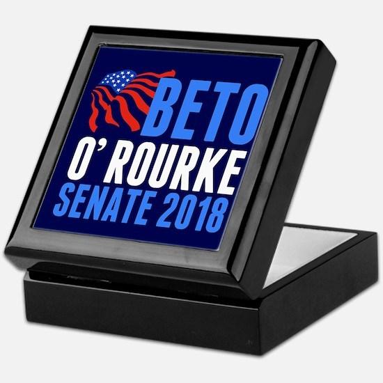 Beto O'Rourke Senate Keepsake Box
