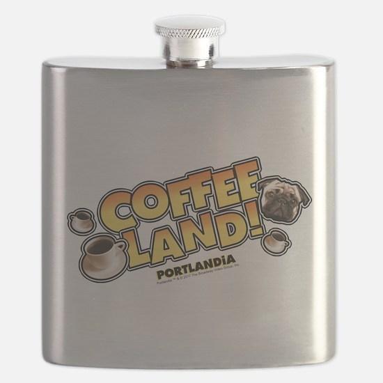 Portlandia Coffee Land Flask