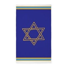 Star of David 3'x5' Area Rug