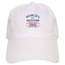 World's Most Awesome Virgo Baseball Cap