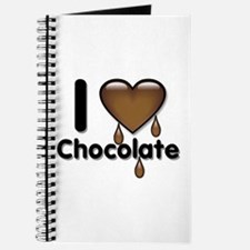I Love Heart Chocolate Lover Journal