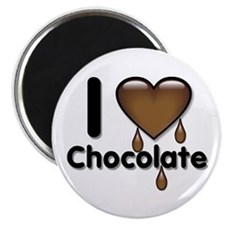"""I Love Heart Chocolate Lover 2.25"""" Magnet (100 pac"""