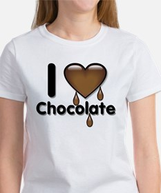 I Love Heart Chocolate Lover Tee