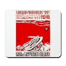 1923 Italian Championship Motorcycle Race Poster M