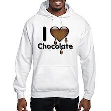 I Love Heart Chocolate Lover Hoodie