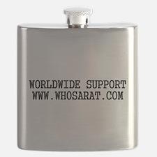Cute Snitch Flask