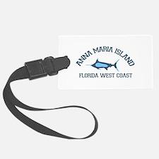 Anna Maria Island - Fishing Design. Luggage Tag
