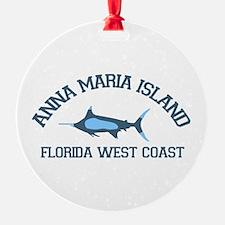 Anna Maria Island - Fishing Design. Ornament
