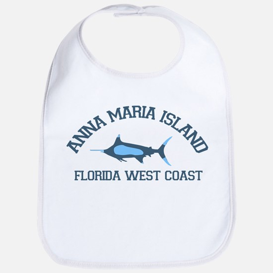 Anna Maria Island - Fishing Design. Bib