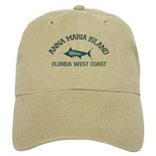 Anna Maria Island - Fishing Design. Baseball Cap