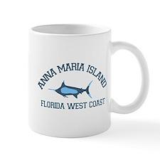 Anna Maria Island - Fishing Design. Small Mug