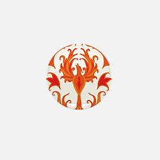 Phoenix Firebird Mini Button
