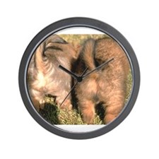 Puppy Butts Wall Clock