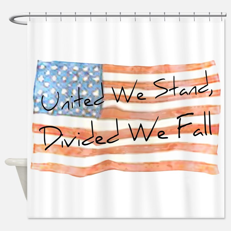 united we stand shower curtains united we stand fabric