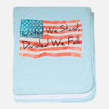 United We Stand baby blanket