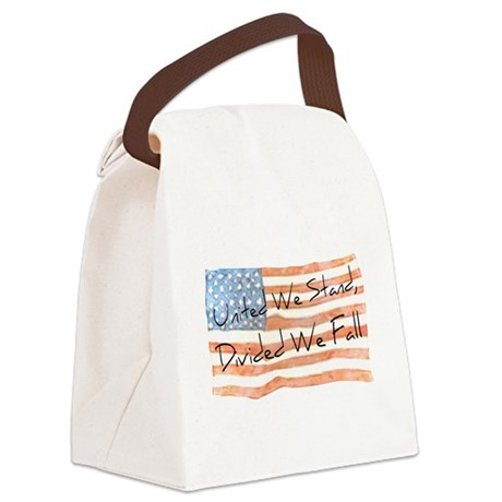 United We Stand Canvas Lunch Bag