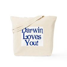 Darwin Loves Me Tote Bag