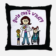 Light Doctor Throw Pillow
