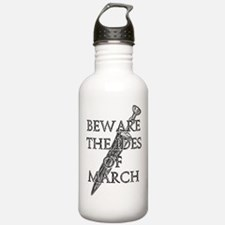 Beware The Ides Of March Water Bottle