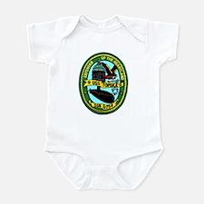 USS Topeka SSN 754 Infant Bodysuit