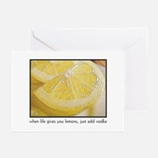 When Life Gives You Lemons, j Greeting Cards (Pack
