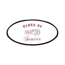 Class Of 2013 (Distressed, Red) Patches