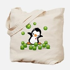 Tennis Penguin Tote Bag