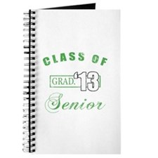 Class Of 2013 (Distressed, Green) Journal