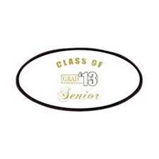 Class Of 2013 (Distressed, Gold) Patches