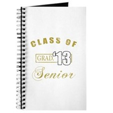 Class Of 2013 (Distressed, Gold) Journal