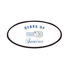 Class Of 2013 (Distressed, Blue) Patches