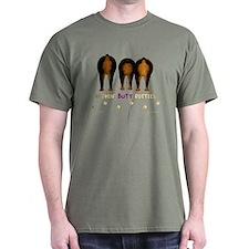 Nothin' Butt Rotties Green T-Shirt
