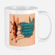 Not Man But Fly Mug