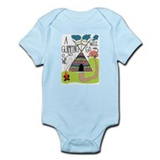 A Glamping we will go Body Suit