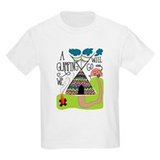 A Glamping we will go T-Shirt