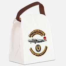 AAC - B-24 - 15 AF Canvas Lunch Bag