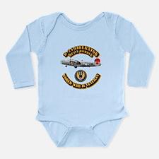 AAC - B-24 - 15 AF Long Sleeve Infant Bodysuit