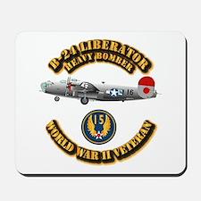 AAC - B-24 - 15 AF Mousepad