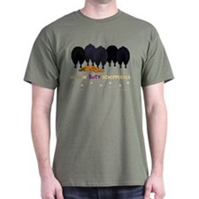 Nothin' Butt Schipperkes Green T-Shirt