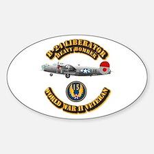 AAC - B-24 - 15 AF Sticker (Oval)