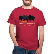 Nothin' Butt Schipperkes Red T-Shirt