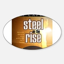 steel on the rise coverart Decal