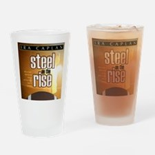steel on the rise coverart Drinking Glass