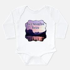 Glacier National Park Long Sleeve Infant Bodysuit